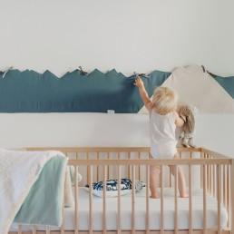 tour de lit bébé sécurisé